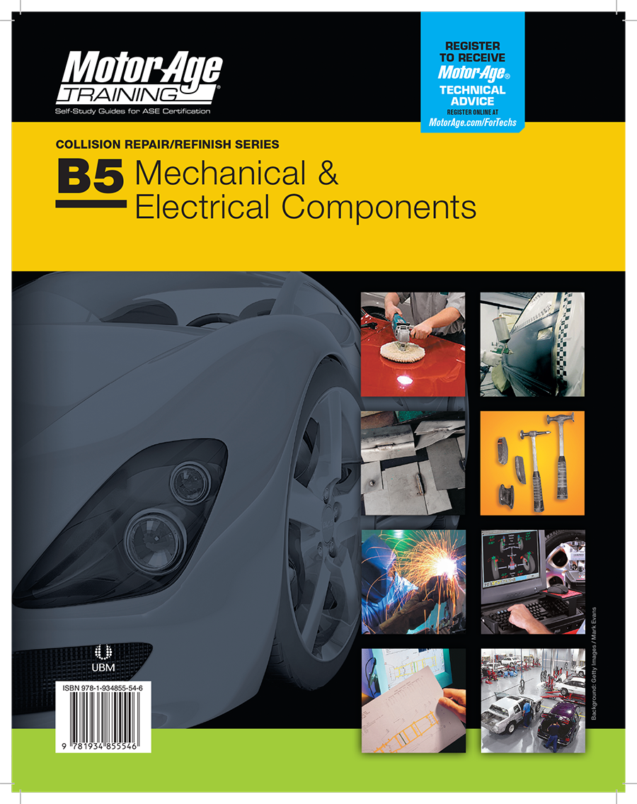 B5 Study Guide - ASE Test Prep for MECHANICAL & ELECTRICAL Certification
