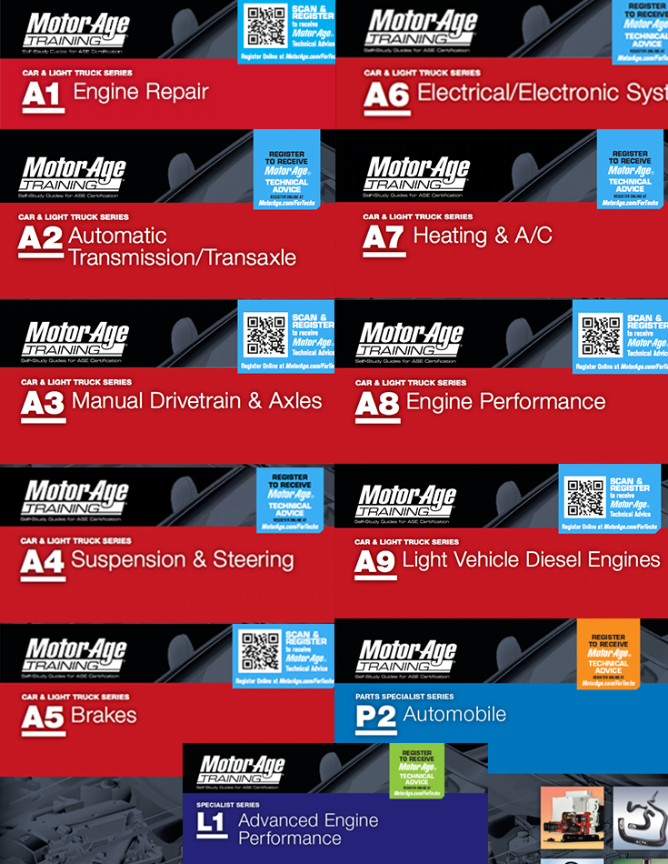 A1-A9, L1 and P2 - Motor Age Training Master Pack 1
