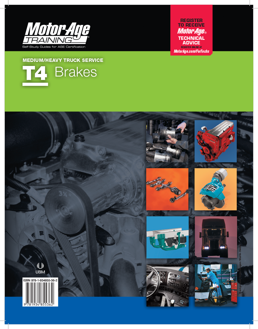 T4 Study Guide - ASE Test Prep for Brakes Certification