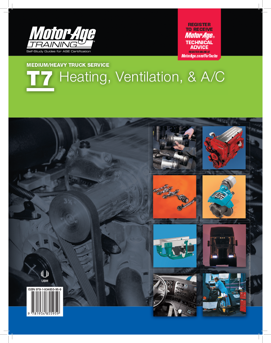 ase test certification study guide prep series diesel truck t6 age brakes motor engines t1 guides t8 electronic training heavy